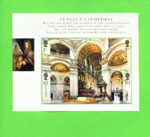 GREAT BRITAIN - Miniature Sheet/2008 St Paul´s Cathedral UM - 1952-.... (Elizabeth II)