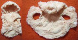 Manteau Poil Court Rose Pale Intérieur Tissus Pour Chiot Ou Très Petit Chien - Unclassified