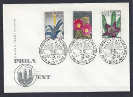 N°1315/1317FDC GESTEMPELD GENT SUPERBE - FDC