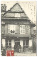 Le Faou, Vieille Maison Du XV°siècle De La L´Lace Des Halles (Finistère) - Francia