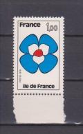 """FRANCE / 1978 / Y&T N° 1991 ** : """"Régions"""" (Île De France) BdF - Gomme D'origine Intacte - France"""