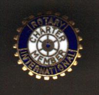 31908- Pin�s Rotary international.association .Charter Member