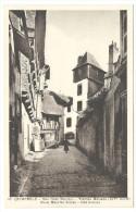 """Quimperlè, """"Rue Dom Maurice - Vieilles Maisons (XIV° Siècle) - Dom Maurice Street - Old Houses - Quimperlé"""