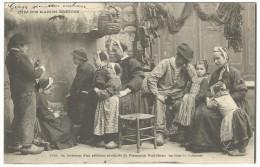 1903, 1533. (4) Chez Nos Marins Bretons -  Intèrieur D´un Péxheur De Sardinier De Penmarch.Gulvinec Un Jour De Chomage. - Penmarch