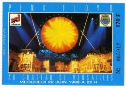 """PINK FLOYD  """"Au ch�teau de Versailles"""" 22/06/1988"""