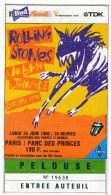 """THE ROLLING STONES - tourn�e """"Urban Jungle"""" 1990 - concert de Paris-Parc des Princes"""
