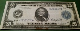 USA 20 Dollars 1914 St.Luis Scarce - Federal Reserve Notes (1914-1918)