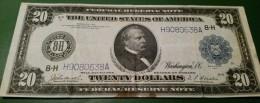 USA 20 Dollars 1914 St.Luis Scarce - Bilglietti Della Riserva Federale (1914-1918)