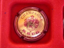 *  Capsule De Champagne KRUG  N° 38a  * - Chapas Y Tapas