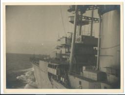 CROISEUR FOCH  3 PHOTOS 1935-40 - MARINE BATEAU MILITARIA