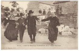 1929, 4551. - Jour De Mariage à Gouézec (f.). - Une Gavotte. - Gouézec