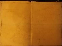 Ozzano Dell´Amola, Sasso, Bologna, 1800/1810, Mappa Catastale Filigranata Dei Beni Mattioli, Cm. 60 X 42. - Topographical Maps