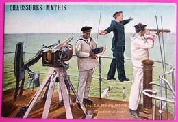 Cpa Publicité Chaussures Mathis Carte Postale Vierge Aqua Photo Paris - Pubblicitari
