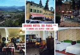 04 - SAINT-ANDRE Les ALPES -  Hôtel-restaurant Du Parc - Autres Communes
