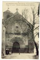 ARGENTON-CHATEAU. - Porte D'entrée De L´Eglise. - Argenton Chateau