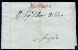 Nicastro-00514 - Piego Del 28 Marzo 1801 (con Testo) Da Nocera Terinese - - Italia