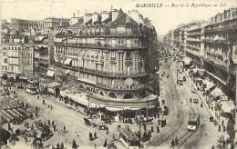 - Departs Div - Bouches Du Rhone - Ref X149 -  Marseille - Rue De La Republique - Cinematographe Gaumont - Marseille