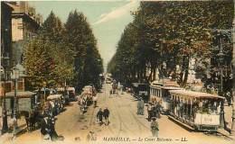 - Departs Div - Bouches Du Rhone - Ref X148 -  Marseille - Cours Belsunce - Trmway N° 204 - Tramways - - Autres