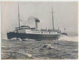 "PHOTO TRAMPUS - Le steamer fran�ais ""C�TE d'ARGENT""  - 10/3/39 - TTB"