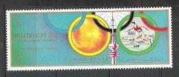 Ajman Lancer Du Disque   JO Munich 1972    **  MNH - Athletics