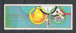 Ajman Course De Haies   JO Munich 1972    **  MNH - Athletics