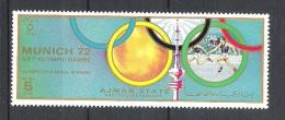 Ajman Relais   JO Munich 1972    **  MNH - Athletics