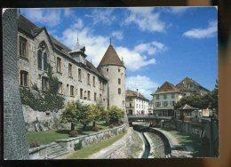 CPM Suisse YVERDON Le Château - VD Vaud