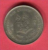 5 ROUPIE  NOUVELLE CONSTITUTION  (KM 1063)  TTB/SUP 4,75 - Népal
