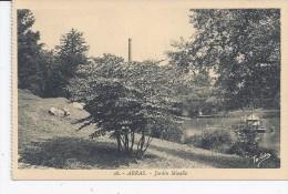 CPA 62 - ARRAS - Jardin Minelle - Arras