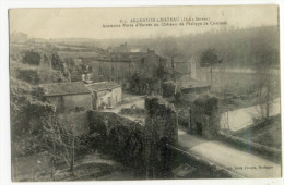 ARGENTON-CHÂTEAU. - Ancienne Porte D'Entrée Du Château De Philippe De Comines - Argenton Chateau