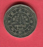 1 ROUPIE    (KM 828A )  TTB/SUP  2,25 - Népal