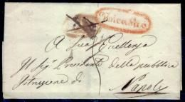 Nicastro-00517a - Piego (senza Testo) Del 12 Novembre 1851 - - Italia