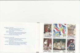 SUEDE- N° 1794 A 1799 EN CARNET -NEUF XX -ANNEE 1994 - COTE : 15 €-relation Culturelles France -Suede - Carnets