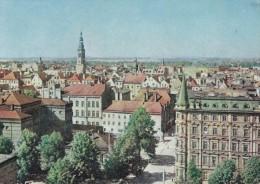 Poland Swidnice city view 1967