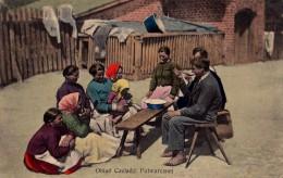 OBIAD CZELADZI FOLWARCZNEJ / D�JEUNER au VILLAGE / DINNER in VILLAGE - ANN�E / YEAR ~ 1905 - 1910 (r-371)