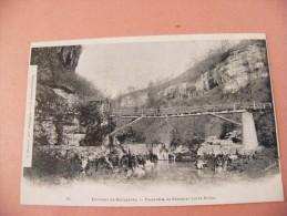 01 Environs De Bellegarde Passerelle De Génissiat Sur Le Rhône - Bellegarde-sur-Valserine