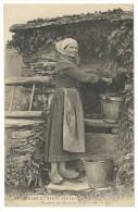 1919, 34. - Moeurs Types Bretons. - Paysanne Des Entirons De Lanneur. -LL - Francia