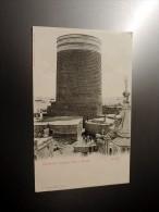 Carte Postale Ancienne : BAKU, BACOU : La Tour De Vierge - Azerbaïjan