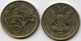 Namibie Namibia 10 Cents 1996 KM 2 - Namibie