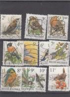 Lot Zegels Vogels Van A.Buzin - Belgium
