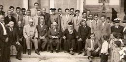 GRUPO DE HOMBRES-GROUP OF MEN-GROUPE D´HOMMES ESPAÑOLES SPANISH ESPAGNOL NO CIRCULADA NOT ISSUED CIRCA 1930  GECKO. - Kostums