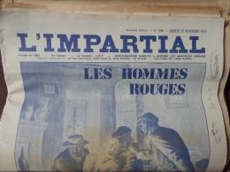 LES CHAUFFEURS DE LA DRÔME: LOT 22 L'IMPARTIAL (ROMANS/ISÈRE) HISTOIRE COMPLÈTE - History