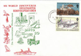 GUERNSEY 1978 MS WORLD DISCOVERER - KREUZFAHRTEN SCHIFFSEXPEDITIONEN - Guernesey