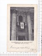 La Proclamazione  Del Pontefice   PIO    X    Dalla  Loggia Esterna  Di S.  PIETRO - Roma (Rome)