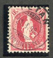 4945  Swiss 1908  Mi.#79D  (o)  Zum. #91C  Cat. 15.€  -Offers Welcome!- - Gebraucht