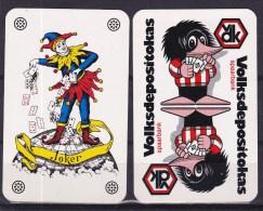 1 Kaart ( Joker)  Kaart 230 - Cartes à Jouer