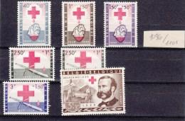 Nr. 1096 / 1101  Postfris - Bélgica