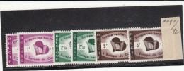 Nr. 1090 / 1092  Postfris   2 X - Non Classificati