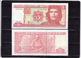 CUBA : 3 pesos 2004. pk.123.  SC.NEUF.UNC.