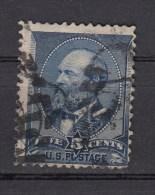 USA   5 C Präsidenten 1887 - Mit Balken-Ring-Stempel - Used Stamps